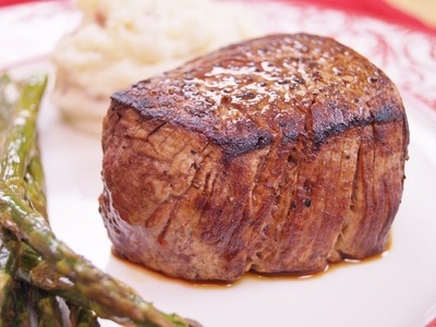 Filet Mignon: Recipe: How To Cook: Perfect Filet Mignon: BEST:Pan.Oven:Di Kometa-Dishin' With Di #45