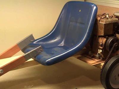 How To Make a Go Kart Part 2, Adding a Motor