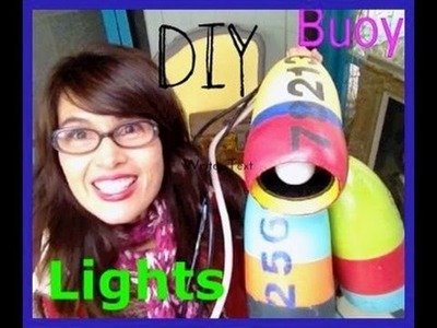 How to make a lamp from a fishing buoy, distress and paint using CeCe Caldwell products