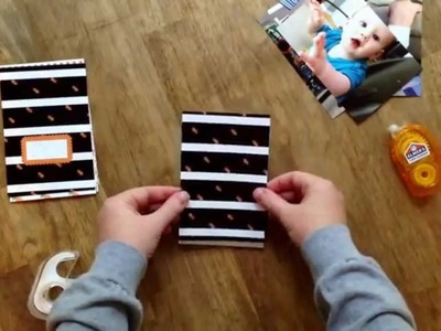 How to make a photo book.