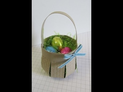 How to make an Basket with paper