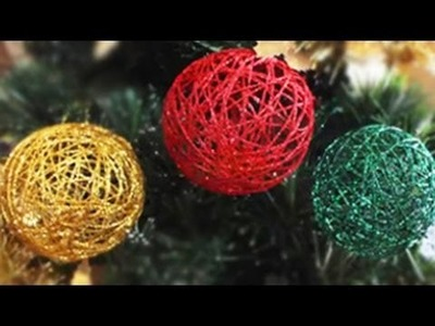 How to Make Christmas Baubles