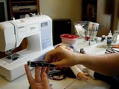 How to Make Doll Shoes - V Pumps Pt 1