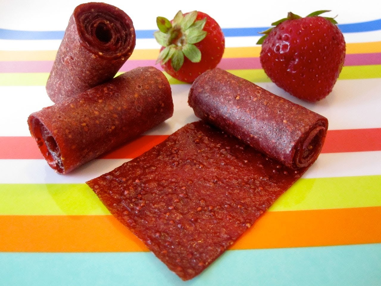 How to Make Homemade Fruit Roll Ups for Kids - Healthy Snack Recipes - Weelicious
