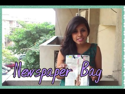 How To Make Newspaper Bags | Save Earth Use Paper Bags