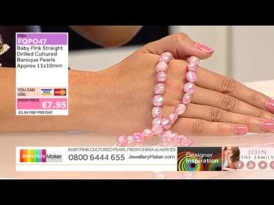 How to Make Paracord Bracelets - Jewellery Maker DI Show 19.09.14