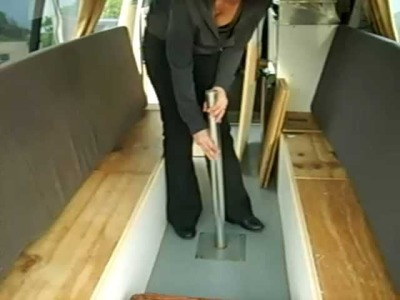 How to turn a table into a bed in a campervan - Part 2