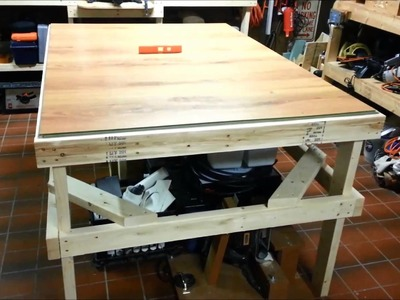 Laminate Flooring Workbench