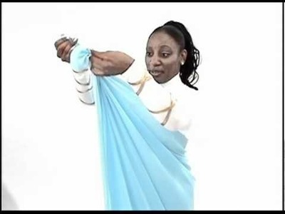 Learn How to Wrap Style - Liturgical Wrap - Rejoice Dance Ministriy