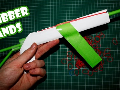 Make a Paper AK-47 Gun that Shoots 10 Rubber Bands