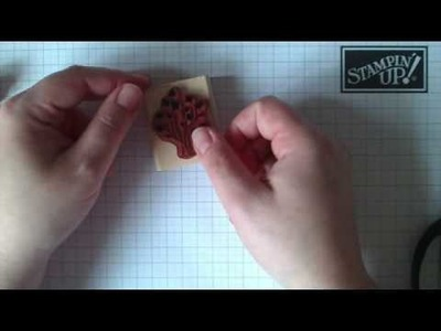 Mounting your Stampin' Up! rubber stamps