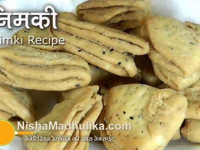 Nimki Recipe  Video | How To Make Nimki