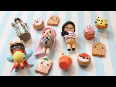 Polymer Clay Charm Update #11