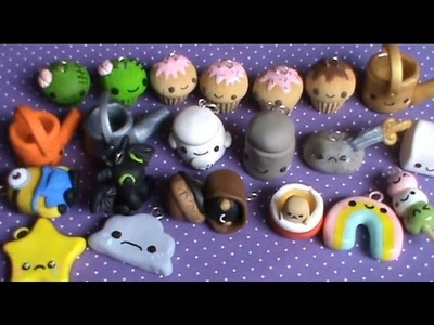 Polymer Clay Charm Update #24