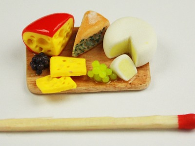 Polymer clay Cheese Board TUTORIAL