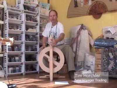 The Kromski Fantasia Spinning Wheel
