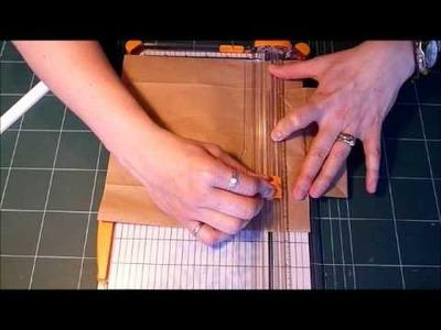 Tutorial: Modified Accordion Paper Bag Mini Album