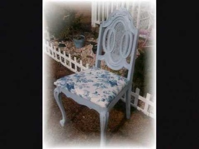 A Shabby Chic Chair Makeover.wmv