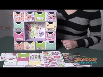 American Girl Crafts Create & Craft Jewelry Keeper from EKSuccess Brands