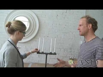 An Easy DIY Candelabra