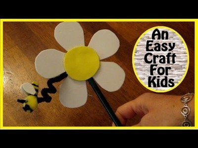 An Easy Pencil Craft For Kids