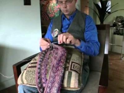 Body Positions: Left Handed Crochet