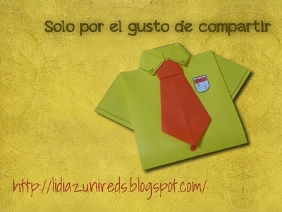 Camisa Origami