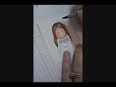 Copic Coloring Tutorial--Hair Colors Part 2