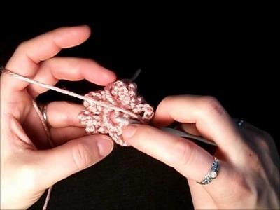 Crochet Flower Tutorial: Part 2 - Flower #1