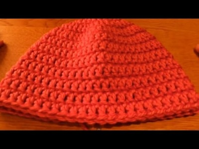 (Crochet) How to crochet a beanie (includes newborn beanie pattern) - Part 1.3 - HappyBerry