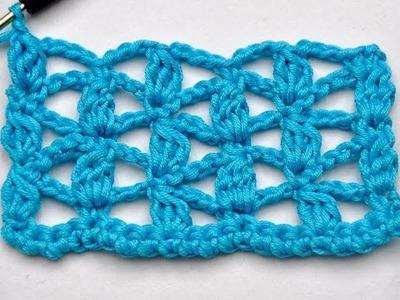"Crochet with eliZZZa * Crochet Stitch ""Bridget"""