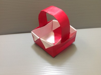 Daily Origami: 046 - Basket