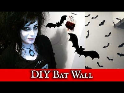 DIY Bat Wall! | Black Friday