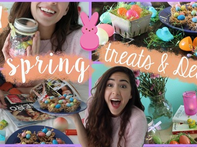 ✿DIY Easter.Spring Treats, Decor, + Essentials!✿