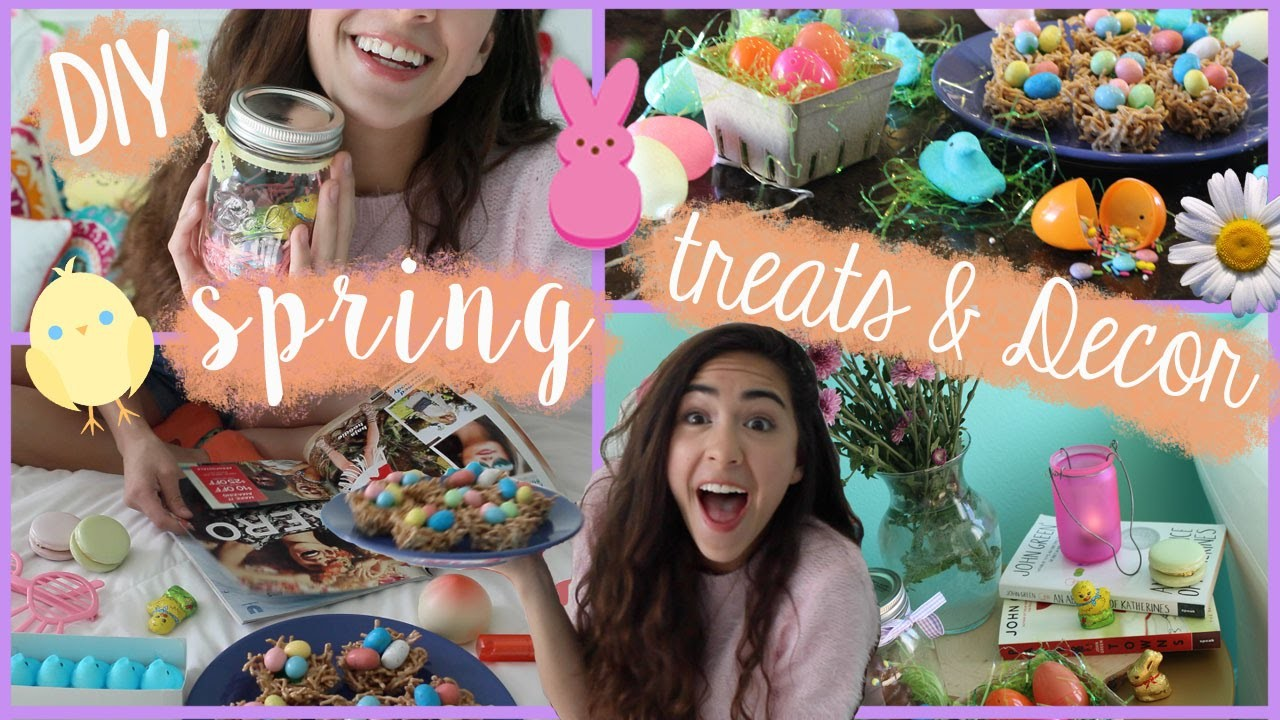 ✿DIY Easter.Spring Treats, Decor, + Essentials!✿