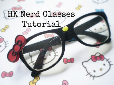 DIY HELLO KITTY Nerd GLASSES- Cute & Affordable!