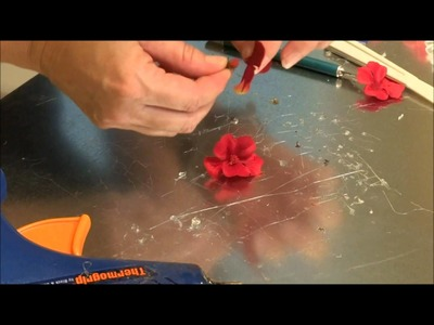 DIY How to Make Flower Magnets