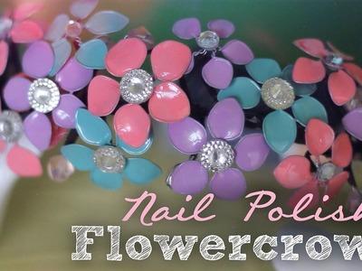 DIY: Nail Polish Flowercrown