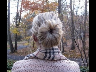 ♡ DIY Perfect Sock Bun Hair Tutorial ♡
