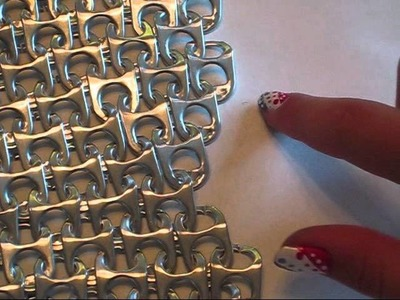 DIY Pop Tab Chain Mail