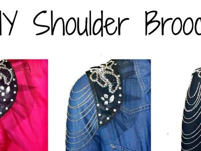 DIY | Shoulder Brooch | H&M Inspired