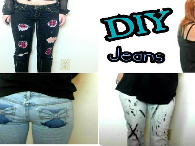 DIY: Spice Up Your Jeans 3 Ways+ How I Style Them!