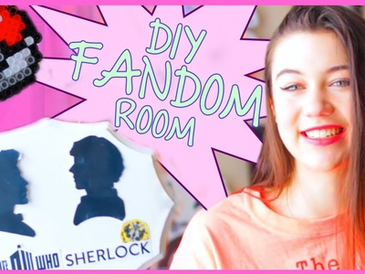DIY Tumblr Inspired Fandom Room Decor with GlamWithJessie!