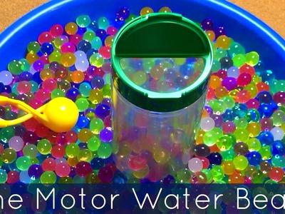 Fine Motor Water Bead Transfer For Toddlers - Preschool - and Kindergarten