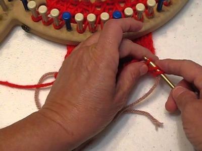 Finishing off Anchor Yarn for board knitting