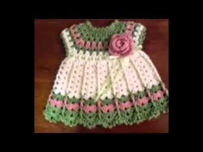 Free Crochet Baby Dress Patterns