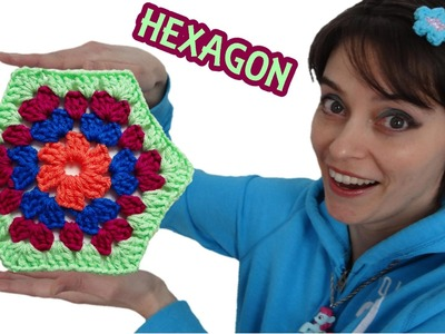 Granny Hexagon Crochet Pattern Tutorial