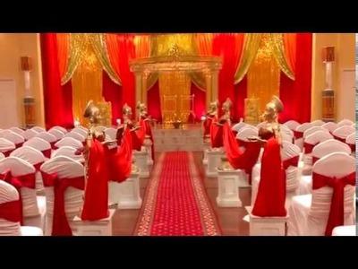 Hindu Wedding Decor- Mandap, Diya Ladies, Ganesh, Malas and More!