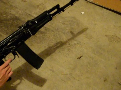 Homemade Self Ejecting Paper AK