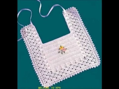 How to Crochet a Baby Bib Free Pattern